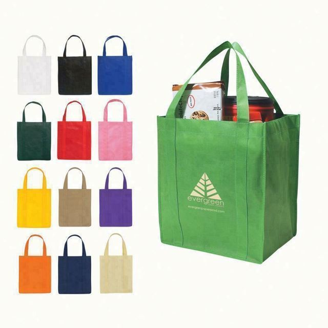 58c27c687ff1 Non Woven New Recycle Lady Green Tote Bags Fashion Shopping Wholesale Eco  Friendly Custom Reusable China Manufacturers Factory