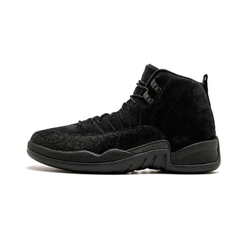 Nike Air Jordan 12 Retro BOV basketball pour hommes Chaussures Baskets De Qualité Supérieure Athlétique Designer Chaussures 2018 Nouvelle Marche 873864-032