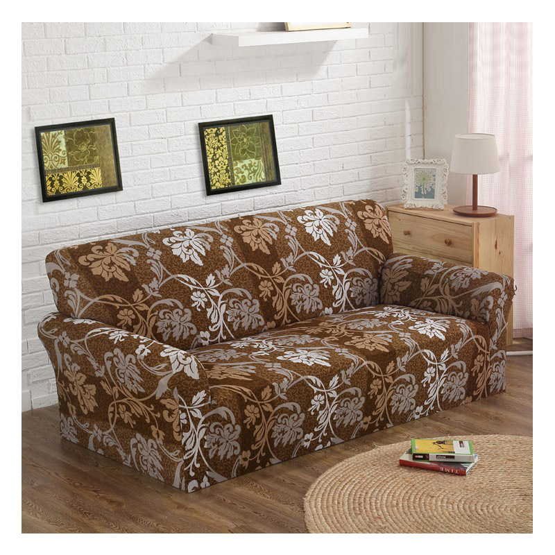 US $21.45 50% OFF|Custom stretch fabric sofa sets all inclusive universal  sofa cover all cover towel European summer leather sofa cushion slip-in  Sofa ...
