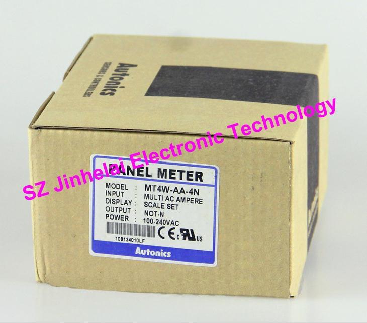 100% Authentic original MT4W-AA-4N Autonics PANEL METER sanyo 4n 600aac 4 8v 600mah original