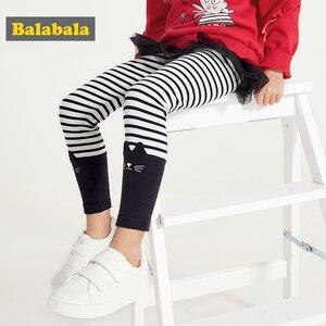 Image 2 - Balabala Kinderkleding Meisjes Leggings Lente 2019 Nieuwe Kinderen Baby Broek Broek Koreaanse Versie Katoen