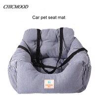 الفاخرة مخطط كلب سرير الحصير سيارة مقعد قابل للغسل في pet dog سرير القط سرير الكلب الفراش السرير لالكلب