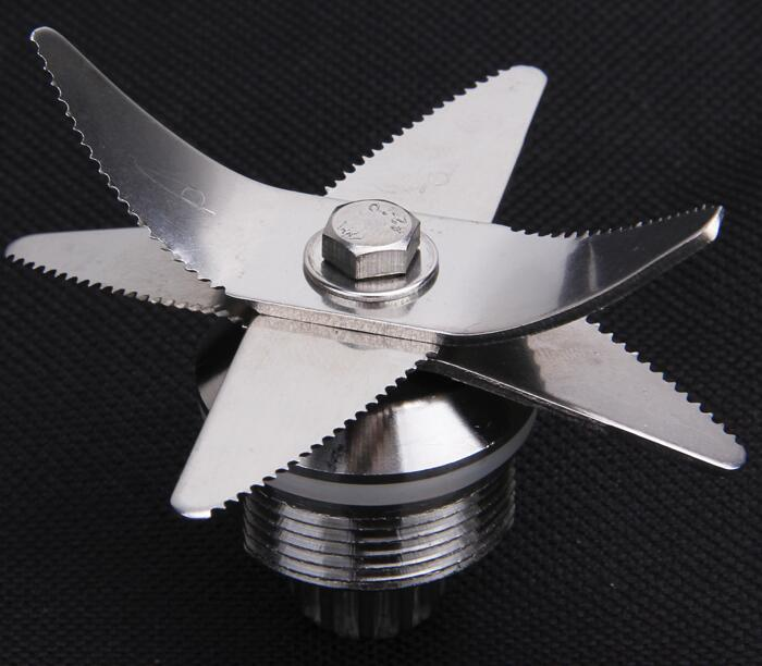 Blender Parts TM-767 768 700 712 ice crusher stainless steel 6 blades soybean maker blade 767 type blender blades ice blades mixer blades diameter 7cm