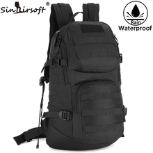 SINAIRSOFT  Outdoor Sports Military Tactics backpack Men Shoulder Bag For Men 35L Camouflage Rucksack Travel Hunting LY0061