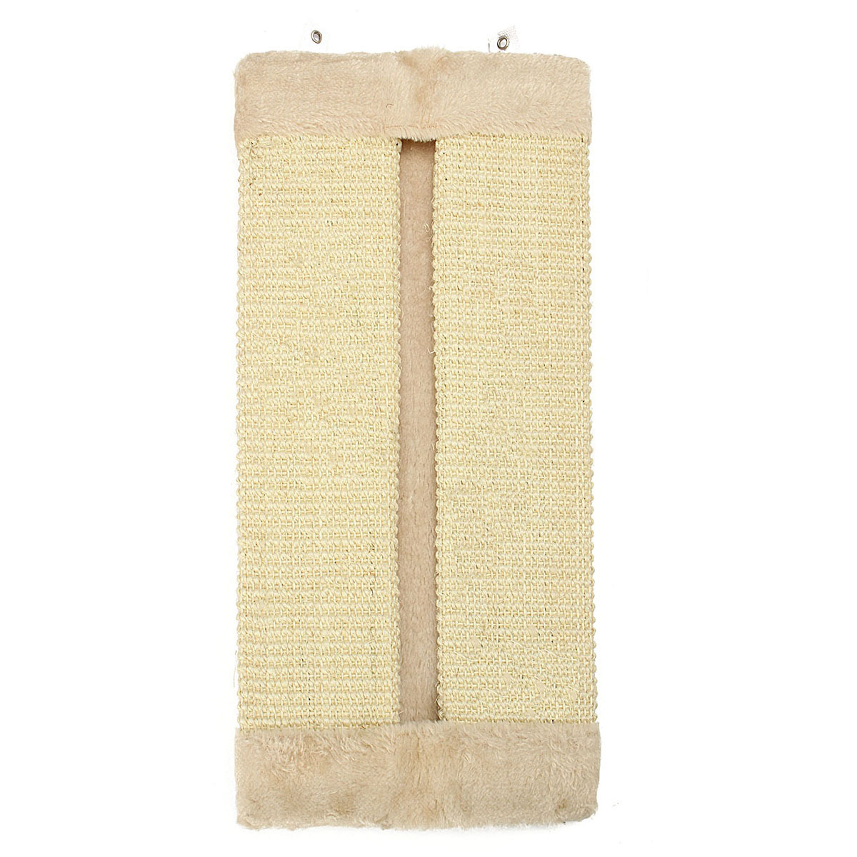 new-pet-cat-corner-wall-hanging-scratching-board-post-toys-mat-scratcherbeige