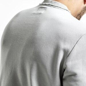 Image 5 - SIMWOOD ブランドパーカー男性 2020 春の新ファッションスリムフィット手紙プリント O ネックスウェット男性プラスサイズのトラックスーツ WT017020