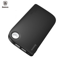 Baseus Dual USB Power Bank 8000mAh Portable Phone Battery Charger Mobile External Battery Powerbank For Xiaomi