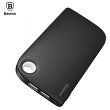 BASEUS Dual USB Мощность Bank 8000 мАч Портативный телефон Батарея Зарядное устройство Мобильный Внешний Батарея Мощность банка для Xiaomi с 2 в 1 кабель