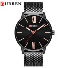 CURREN 2017 Fashion Casual Men's watch Strap Quartz Wristwatch Water Resistant 30m 8238 цена