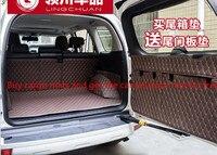 Compre 1 obter 1 grátis!!! Esteira do tronco do carro do forro da carga de 4 cores 8 pces para 7 assentos toyota prado 2010-2017 tapetes interiores do assoalho do tapete
