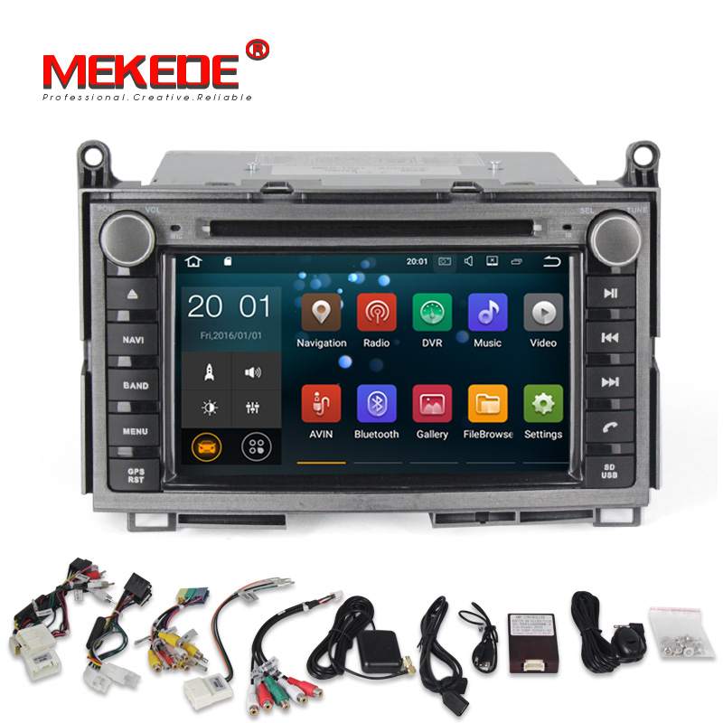 Toyota Venza 2014 Price: Quad Core Android 7.1 Car Radio Dvd Player For Toyota