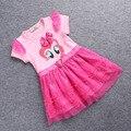 НОВЫЙ 2-7yrs Дети Девушки одеваются для лета Мой Маленький Пони Принцесса Платья Одежда для новорожденных Хлопок повседневная Одежда Платье Костюм