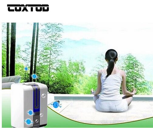 COXTOD Portable Negative Ion Air Purifier Ozonator Air Cleaner Oxygen Bar Purify Air Kill Bacteria Virus Ionizer