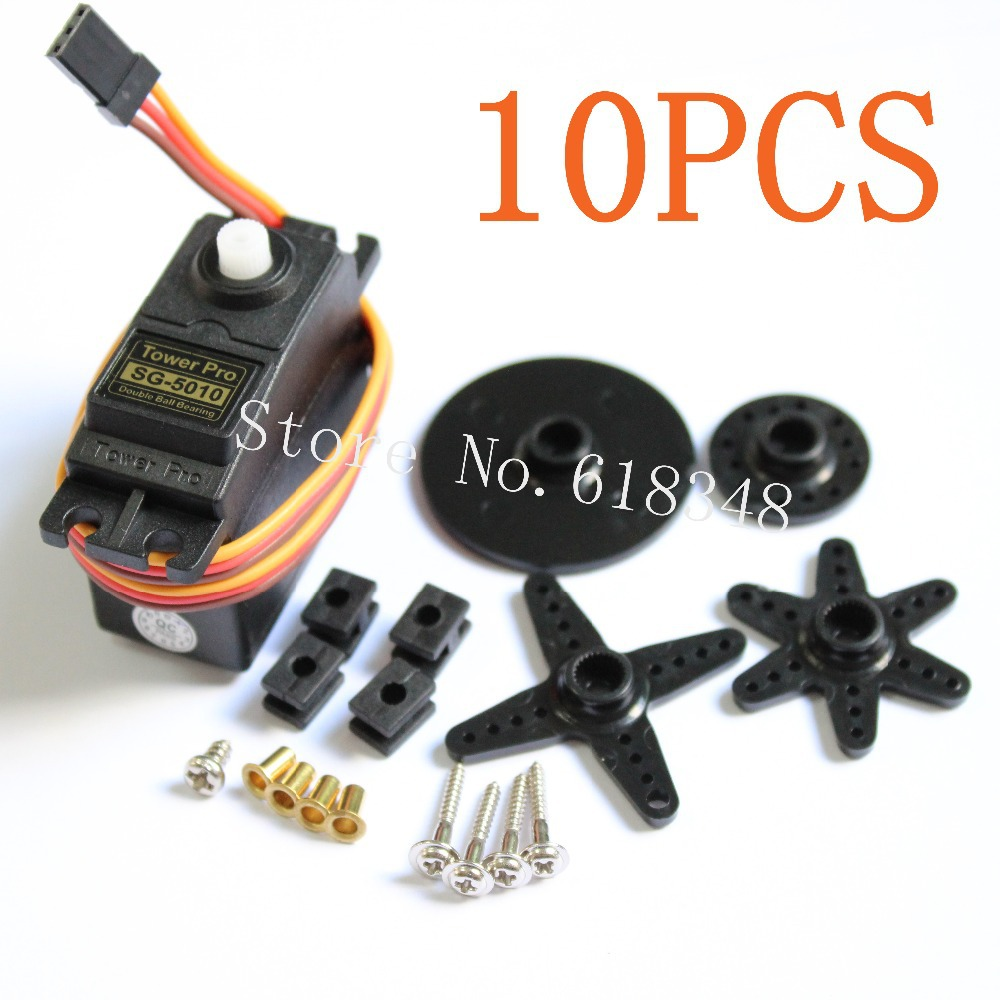 show original title Details about  /HKRC Model Standard Servo Set Double Bearing for RC Airplane Car SG5010 S5X9