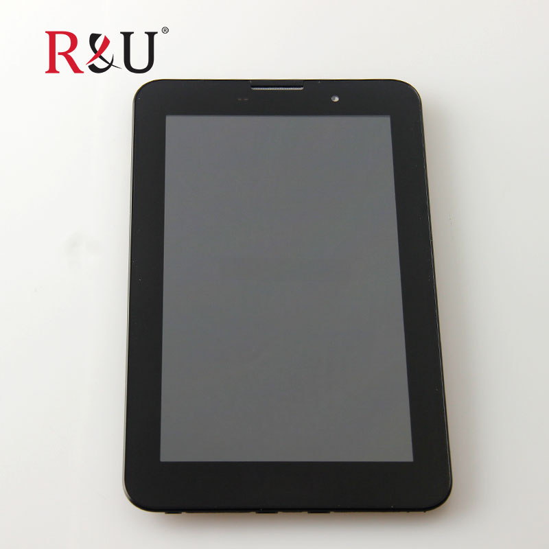 R&U high quality LCD Display + Touch Screen panel Digitizer with Frame Assembly Replacement Repair Parts For Lenovo A3000 Tablet смеситель для ��иде grohe atrio jota 24010000