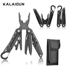 KALAIDUN Tangen Multitool Draad Stripper Krimptang Cable Cutter Folding EDC Mes Opener Draagbare Outdoor Camping Survival(China)