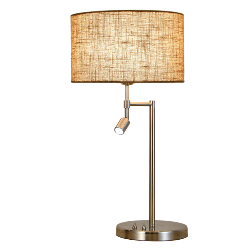 LukLoy Simple Modern Table Lamp Bedroom Bedside Creative Romantic Nordic American Style Living Room Warm Decorative Bedside Lamp living room bedroom bedside table lamp american style simple style lighting modern garden lamps ta9136