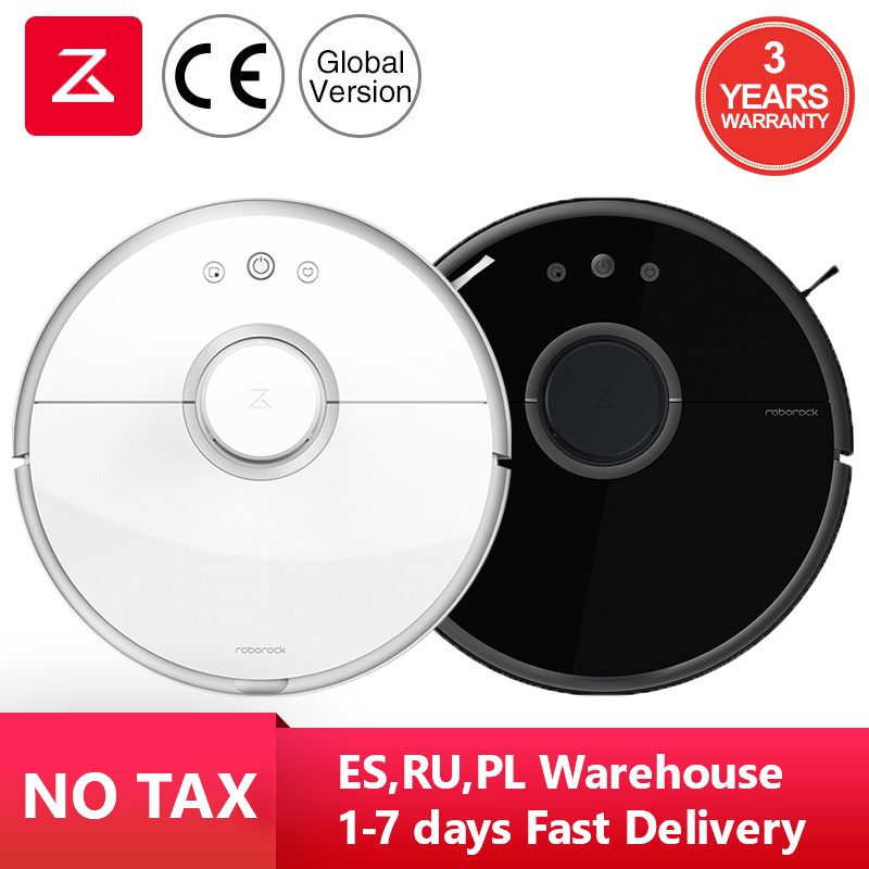 Roborock S50 S55 Robot Vacuum Cleaner 2 Smart Planned Cleaning For Home WIFI APP Control Automatic
