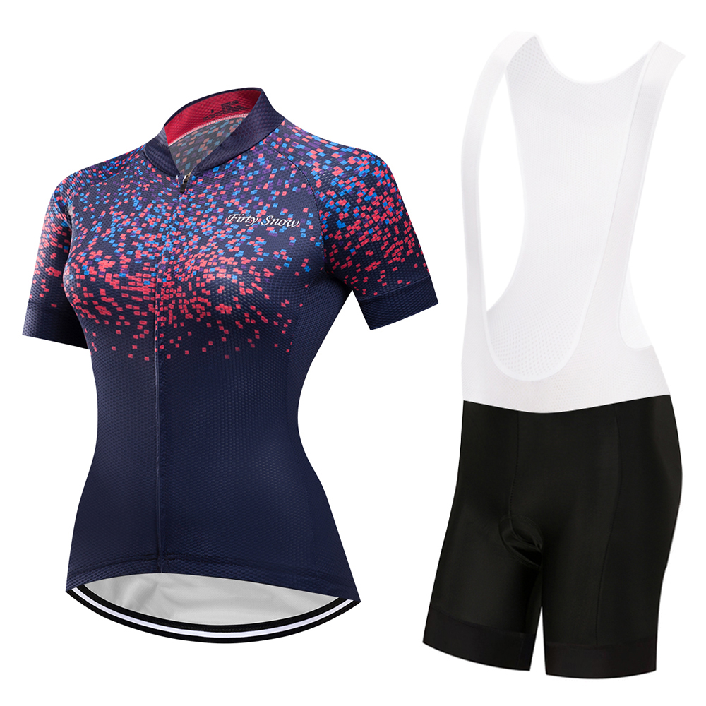 Good quality! Short Sleeve Cycling Clothing Womens Bike Jersey Wear Female Triathlon Maillot Women Summer Bicycle Clothes Top