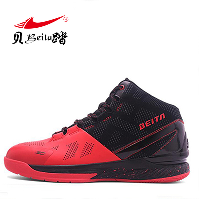 594fa609542 Beita Men s high top Basketball Shoes Male protect Ankle Boots Outdoor  sports male anti-skid