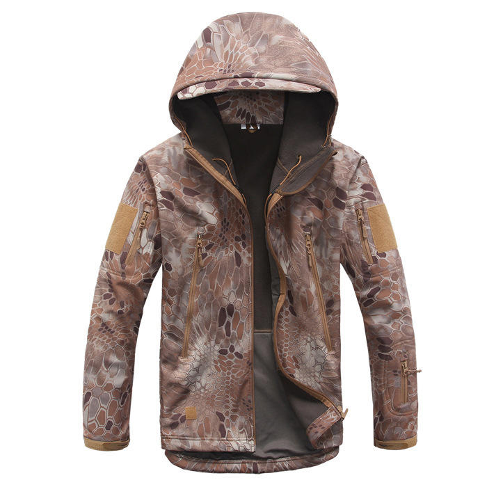 Military Rain Camping Fishing Tactical Clothing Men Unisex Outdoor Waterproof SoftShell Jacket Hunting Windbreaker Ski Coat