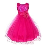 Low Price Summer Gilrs Fashion Cute Sleeveless Dress Girls Lolita Sliod Tutu Princess Party Ball Gown