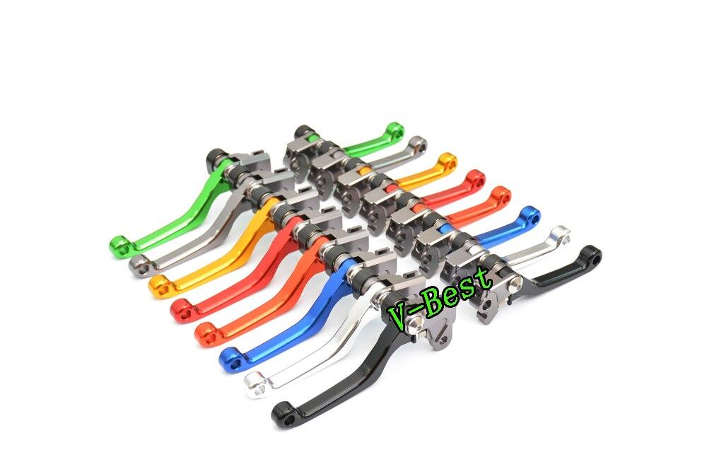 CNC Pivot Frein D'embrayage Leviers pour Honda CRF150R 07-16, CR80R/85R 98-07, CRF125F 14-16, CR125R/250R 92-03, CRF450R 02-03