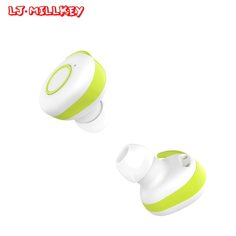 TWS Invisible Mini Headset 3D Stereo Hands-free Noise Reduction Bluetooth Headset Wireless Earphones And Power Bank Box YZ111 k10a bluetooth headset voyager legend headphones stereo handsfree noise reduction bluetooth earphones with storage box