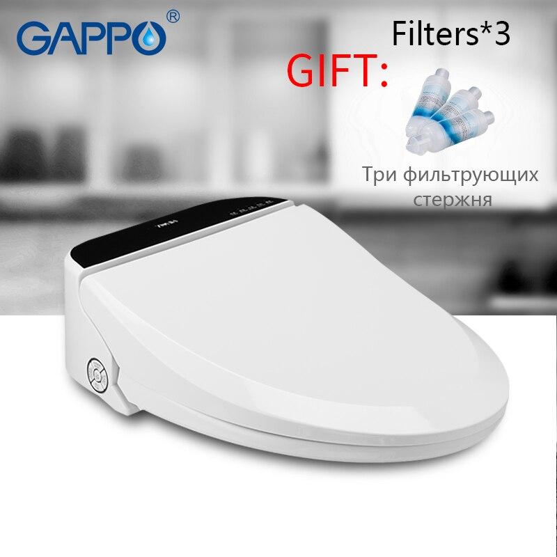 GAPPO wc intelligente sedile sedili wc bidet wc Elettrico copertura di sede Washlet Elettrico toilet seat cover caldo