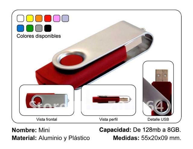 New Arrival USB pen drive 4GB 8 GB 16 GB 32 GB small colorful swivel Flash Drive USB Flash Drive