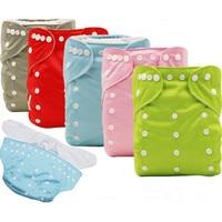 Children Diaper Pants Leak Proof Washable Diaper Pocket 3 8 Years Old Nursing Pants Kids Use
