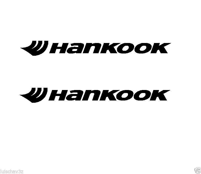 4Pcs (4)Hankook Tires Decal Sticker 12cm