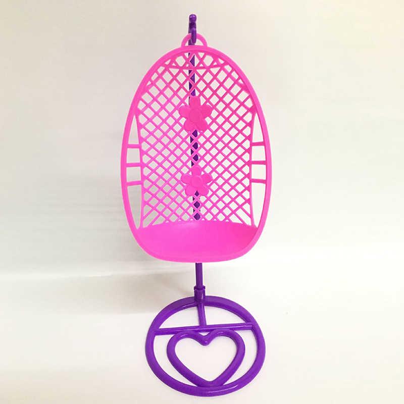 Cesta Berço Do Bebê berço Cadeira Preguiçosa Cadeira Cadeira de Balanço Cadeira de Plástico Para Brinquedos Boneca Móveis Casa De Bonecas Em Miniatura