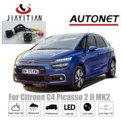 JIAYITIAN kamera tylna do Citroen C4 Picasso 2 II MK2 2013 ~ 2018 Night Vision/CCD kamera cofania kamera na tablicę rejestracyjną w Kamery pojazdowe od Samochody i motocykle na