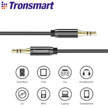 Tronsmart S3C01 3.5mm jack AUX Cable Speaker Cable Audio Cable Car AUX 4ft/1.2m for Headphones, T6 Bluetooth Spekaer,iPods,phone(China)