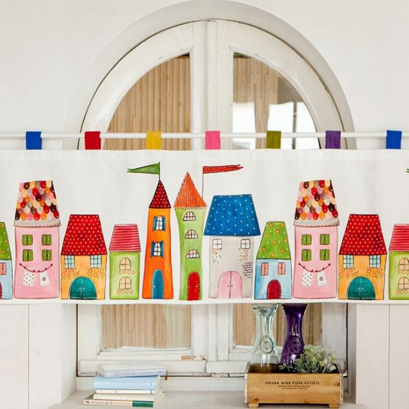 Popular Colorful Kitchen Curtains-Buy Cheap Colorful