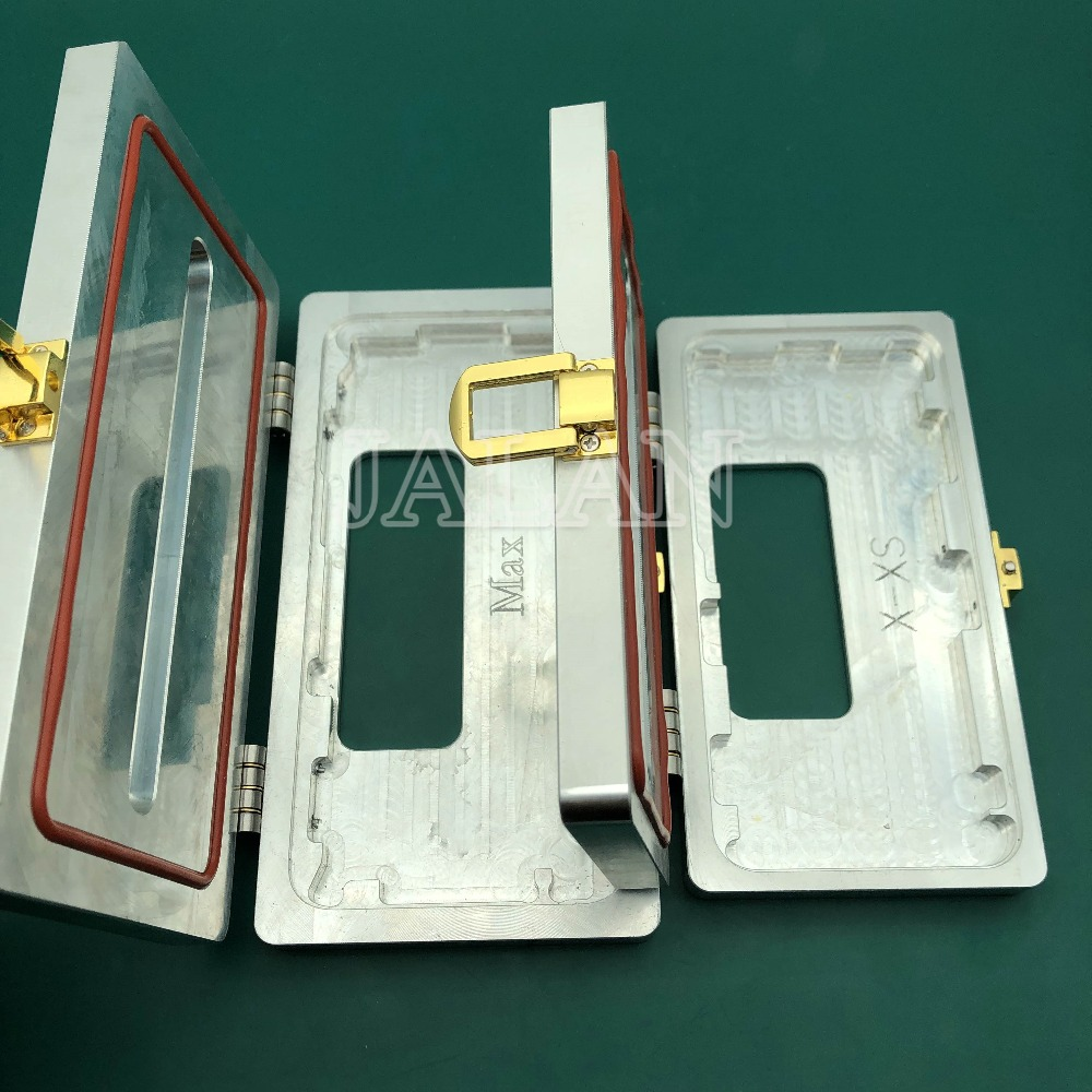 New Clamping mold for iphone x/xs/xs max glass frame cold glue holding close together phone refurbish not damage glass frame image