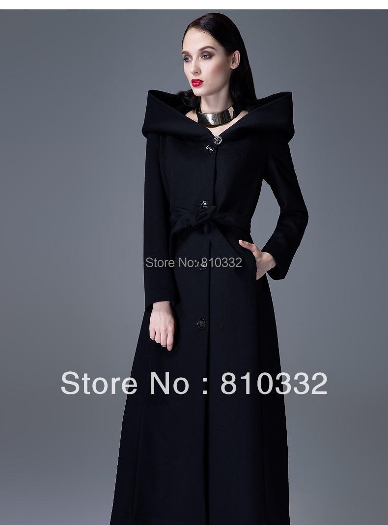 manteau tres long femme avec capuche manteaux populaires. Black Bedroom Furniture Sets. Home Design Ideas