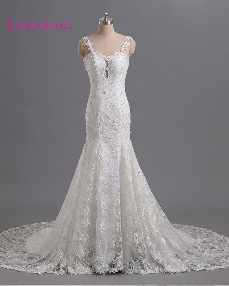 Elegant wedding dresses 2017 gorgeous modern sexy mermaid for Gorgeous backless wedding dresses