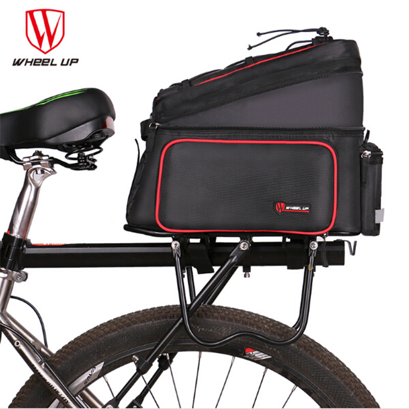 WHEEL UP 26L Bicycle Carrier Bag Rear Rack Bike Trunk Bag