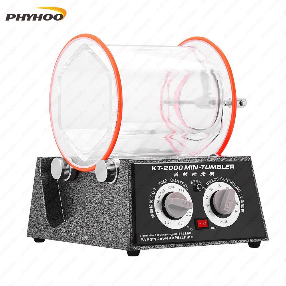 Hot Sale KT-2000 Jewelry Drum Polishing Machine,Jewelry Polishing Drum,Rock Polishing Tumbler