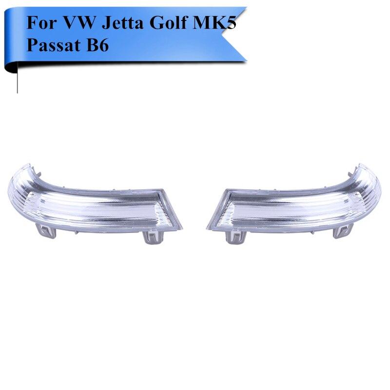 2шт для VW Гольф Джетта МК5 Пассат В6 ЭОС 2003-2012 боковые габаритные фонари зеркала заднего вида с указателем поворота Лампа #Р80
