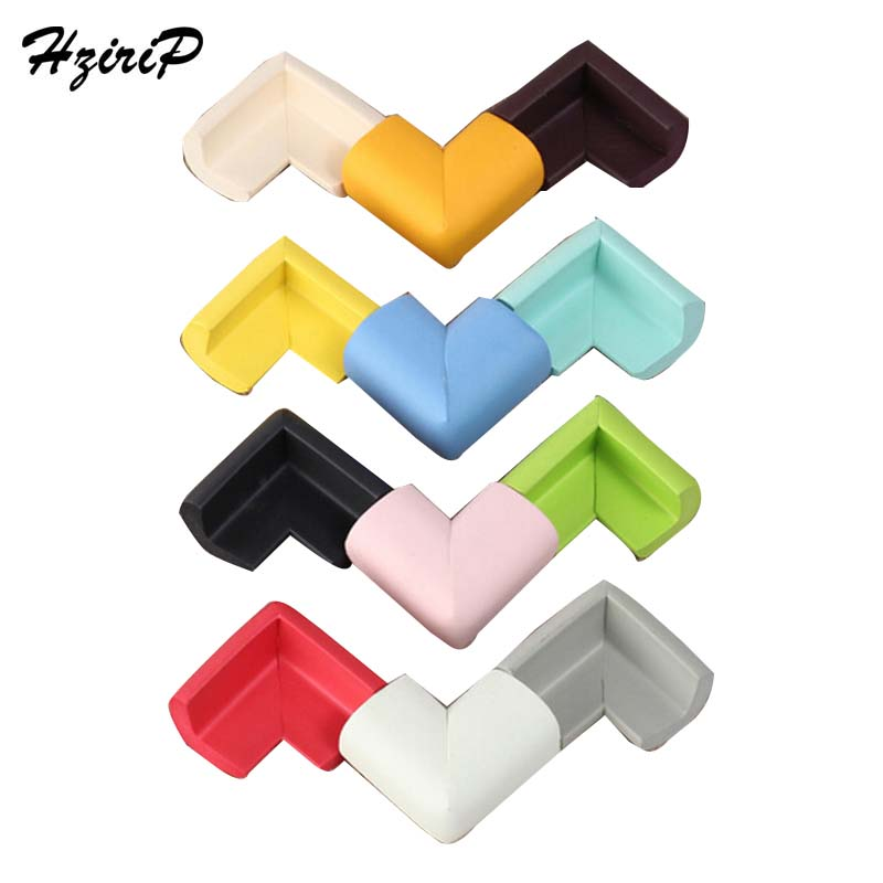 HziriP 2018 4pcs/ Lot L-shaped Widening Baby Safety Collision Angle Infant Protection Angle Safety Edge Guards Wholesale