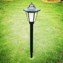 Impermeable Estilo de la Corte Real Blanco Paisaje Solar LED Luz de Jardín Al Aire Libre Patio de Césped Parque Puerta Cuadrados Lámparas de Decoración