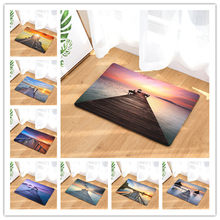Beautiful scenery in front of the carpet at the door of the carpet 40x6050x80cm(China)