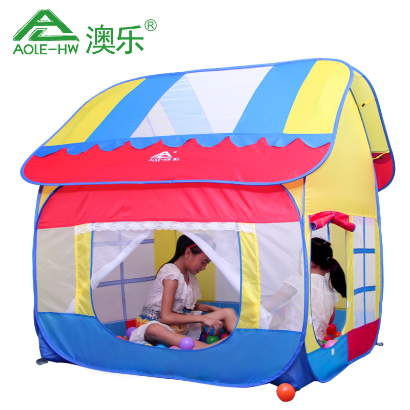 Hot 2015 new Child tent toy Medium large house playground baby game house kids field indoor or outdoor fun sports-in Toy Tents from Toys u0026 Hobbies on ...  sc 1 st  AliExpress.com : baby tent house - memphite.com