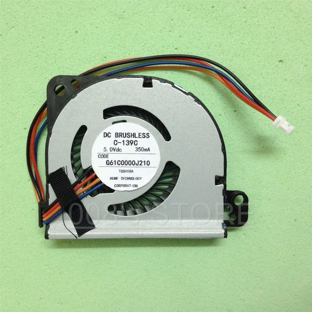Brand New Notebook CPU Cooler Fan For Toshiba Portege Z830 Z835 Z930 Z935 DC BRUSHLESS C-139C DC5V 350mA G61C0000J210 L17-07