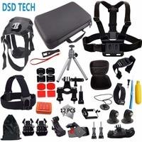 Gopro Here 5 Mini Bag Kit Camera Case Dog Harness For Xiaomi Yi 4K Go Pro