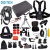 Gopro Here 5 Mini Bag Kit Camera Case Dog Harness For Xiaomi Yi 4K Go Pro