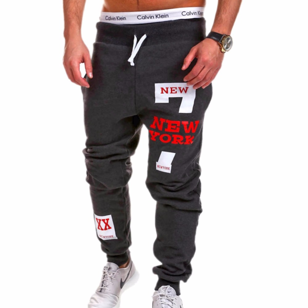 Mens Joggers 2018 Brand Male Trousers Men Pants Casual Pants Sweatpants Jogger Black Large Size 4XL ADBB